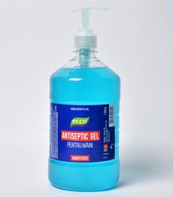 Антибактериальный гель для рук ECCO antiseptic gel 1 Литр