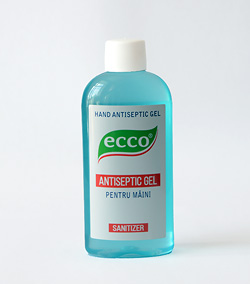 ECCO antiseptic gel 100ml.