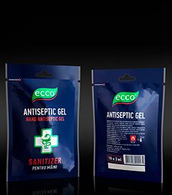 ECCO antiseptic gel 50x3g монодоза