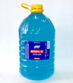 ECCO antiseptic gel 5 Litri.