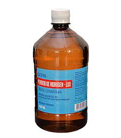 Peroxid de hidrogen 1L (6%)
